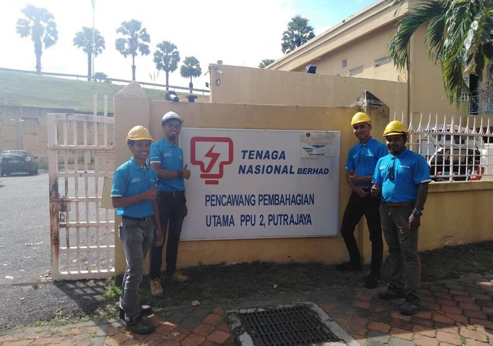 Project Highlights : TNB PPU Security System Project